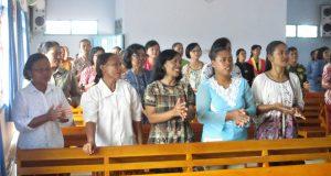 Pelatihan Pemanfaatan Pekarangan Yang Produktif di GKSBS Gunung Pasirjaya