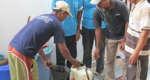 Pelatihan Pembuatan Pestisida Nabati (Pesnab) di Rama Nirwana-Lamteng