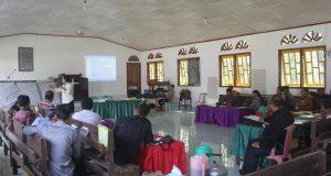 Pelatihan Dasar Pebangunan Perdamaian Klasis Jambi